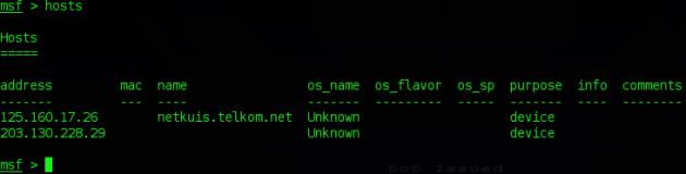 PostgreSQL Pada BackTack dan Kali6